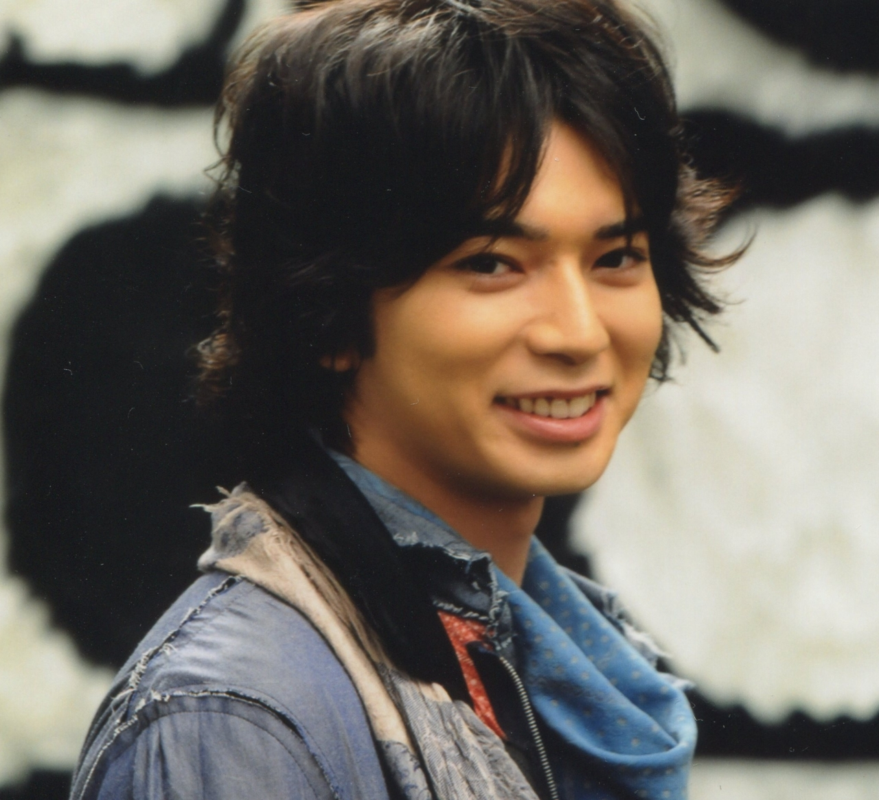 Matsumoto Jun smile
