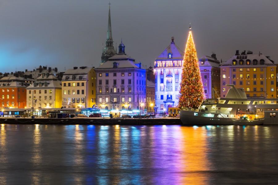 Праздничный Стокгольм