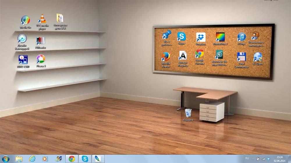 Как выглядит Quot рабочий стол Quot на вашем компьютере Блог
