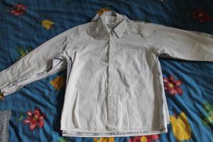рубашка белая Царевич 31-134-140 (12-46-55)