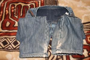 джинсы на флисе (дефект)