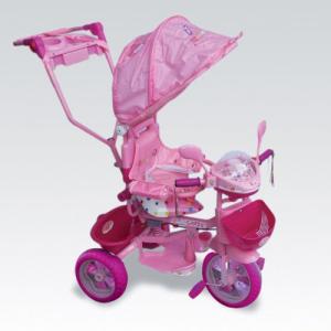 велосипед 3-х кол. розовый Кенди 3200