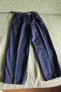 брюки син 134-34 в рубчик 83-61