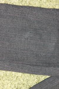 брюки теплые серые  дефект