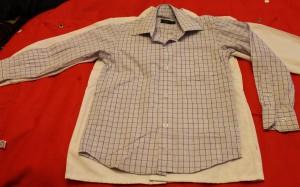 рубашка Gianni Conti  в клетку с роз 4 110-116 50-11-42