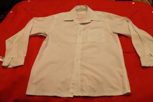 рубашка белая 59-12,5-47,5