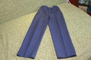 брюки синие с утяжкой старт 134 84-62