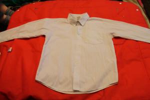 рубашка белая с полосами 54-11-47,5