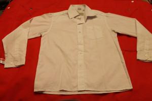 рубашка белая Царевич 31-128-134 56,5-12,5-47,5