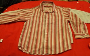 рубашка полосатая розовая Lara 54-11,5-42