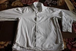 рубашка белая Miliand  32-140 59-14-51