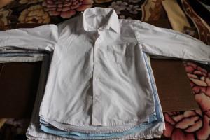 рубашка белая Аэлита  57-14-46,5