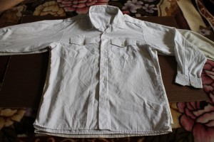 рубашка белая с погонами 62-13-52