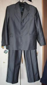 костюм серый Бэфо
