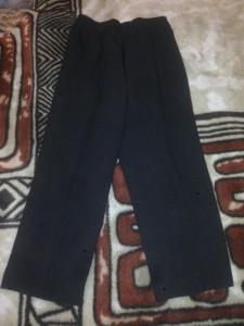 брюки черн 61см 400