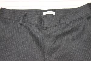 брюки сер cacharel полосат на подкладке с утяж