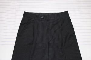 брюки черн с полоской 140-72