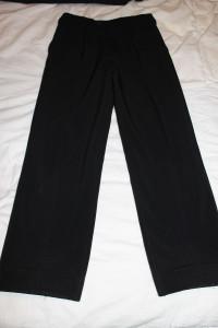 теплые брюки черн на флисе 36-140 85-62