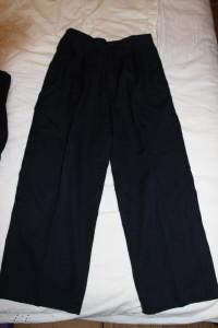 костюм син на пухл брюки 75-52