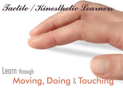 tactile-kinesthetic-learners