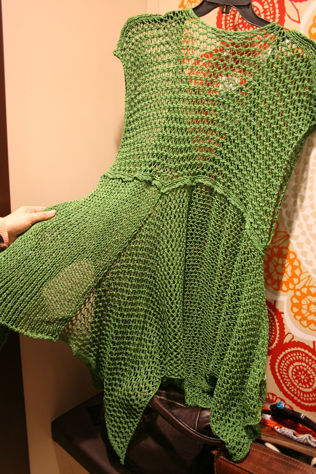 Poncho-green