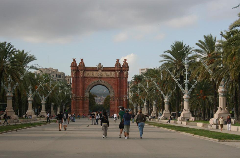 Barcelona-Arc-de-triomfe-mybarcelona.info, apassionata, ФОТО, Барселона, Испания, путешествия, блог,  - копия