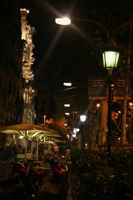 Barcelona-night-cafe-mybarcelona.info, apassionata, ФОТО, Барселона, Испания, путешествия, блог,