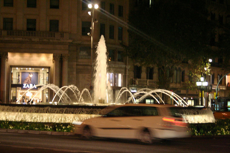 Barcelona-night-mybarcelona.info, apassionata, ФОТО, Барселона, Испания, путешествия, блог,