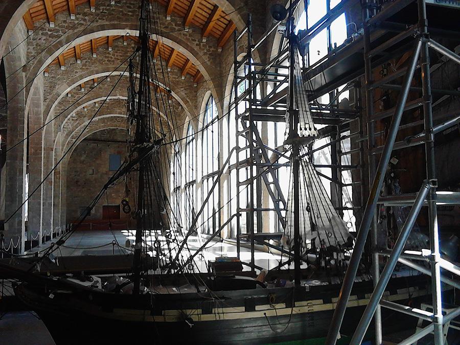 Barcelona museo maritimo españa 1