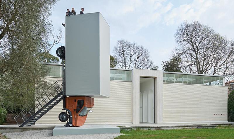 ГАЗон NEXT на Венецианской биеннале-1