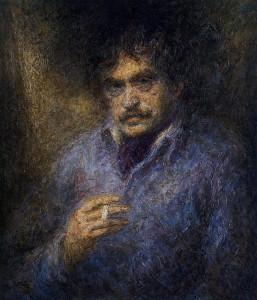 Портрет Василия Аксёнова (автор - Борис Биргер)