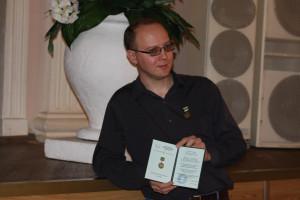 Лауреат Беляевской премии Василий Владимирский