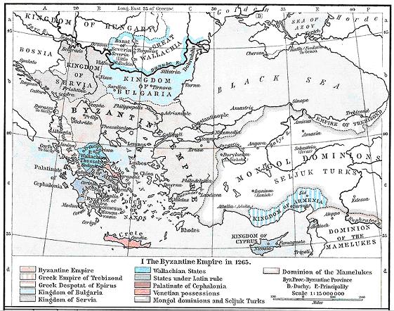 Зваоевания монголов в 1265