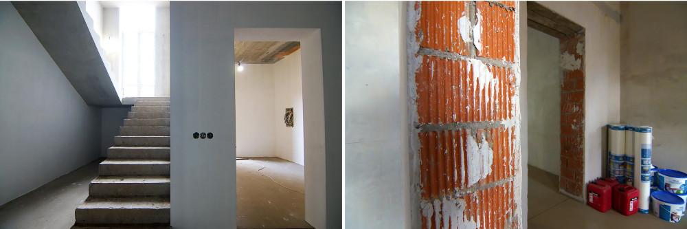 Ходила гладила стенки - с тех пор, как я шпаклевала стены в своем доме, я в состоянии оценить чужую работу