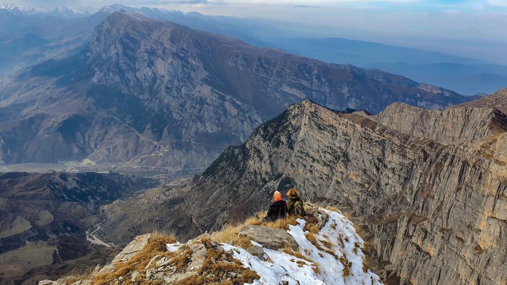 Самый красивый день уходящего года. Северная Осетия. Кариу Хох прогулки,Северная Осетия