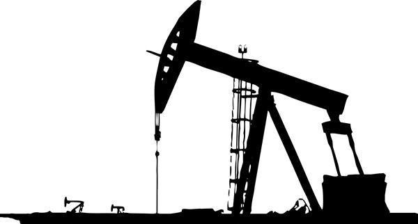 Нефть, вышка, минимализм, вектор, 1600x1200
