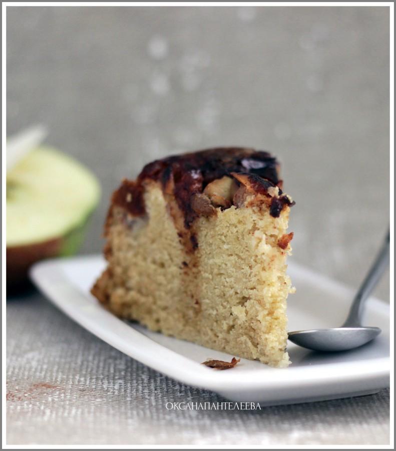 яблочный пирог простой рецепт для мультиварки