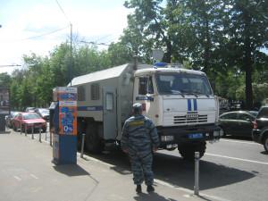 Митинг Яблока, белая прогулка по Красной площади 062