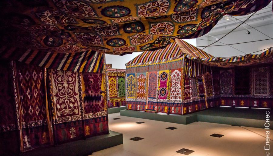 Шатер-палатка эмира Бухарского в Эрмитаже
