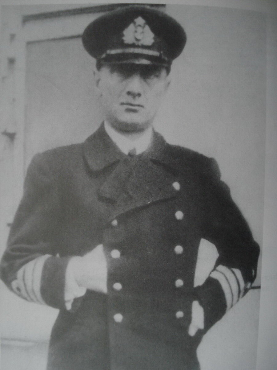 А.В. Колчак в 1917 году