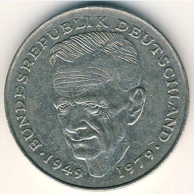 Курт Шумахер на монете