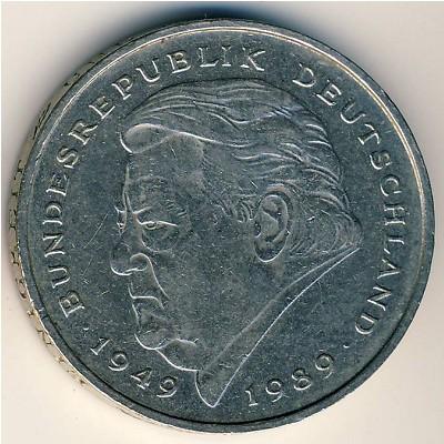 Франц Йозеф Штраус на монете