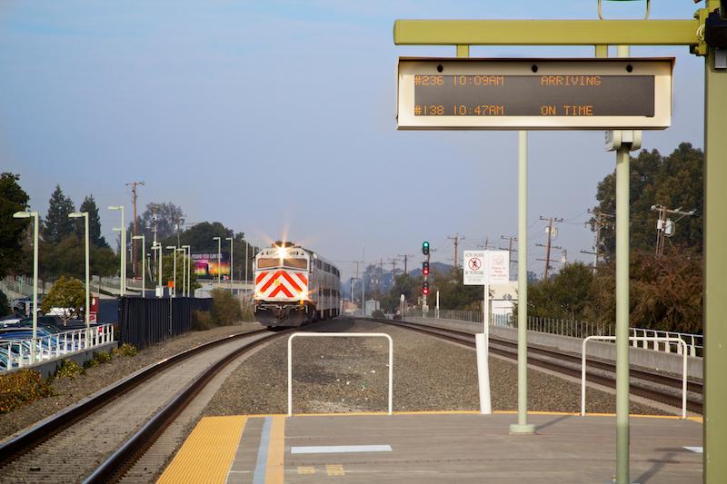 13. Train Arriving