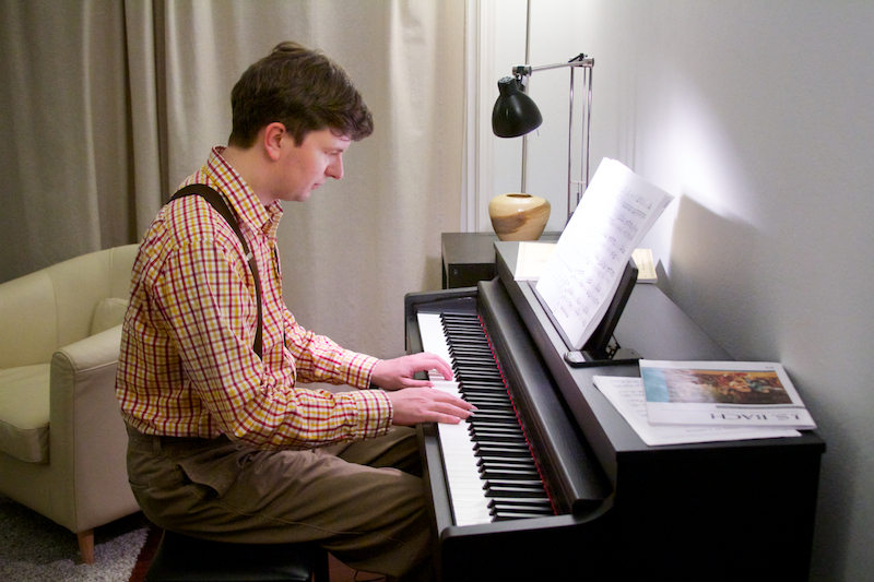 32. Playing the Piano