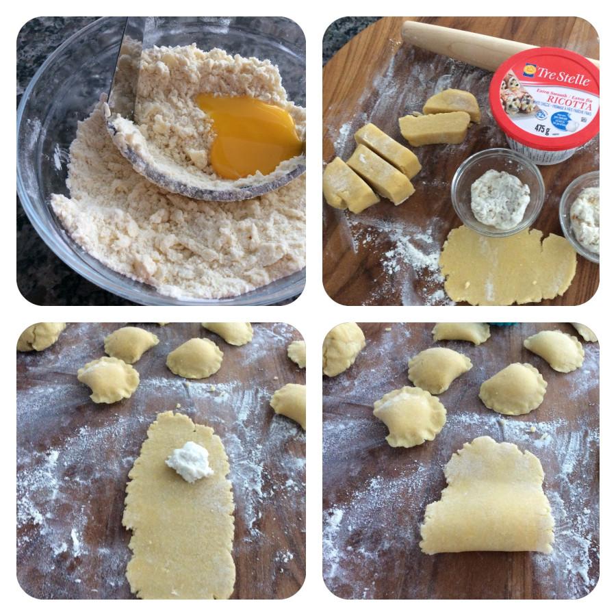 Печенье из рикотты рецепт