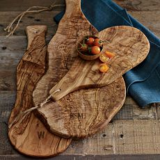 доски из оливкового дерева