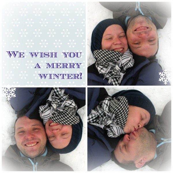 merry winter Collage