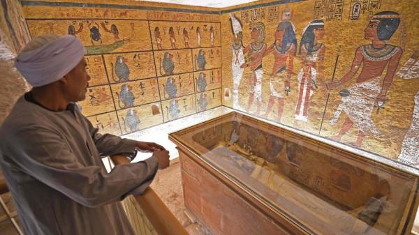 Реставрация гробницы Тутанхамона завершена