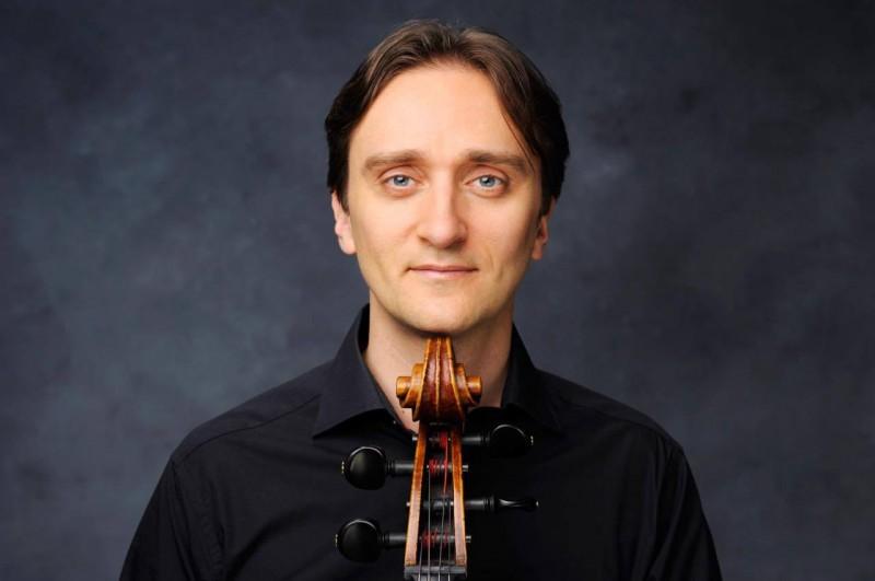 Сын маэстро, виолончелист Витаутас Сондецкис.