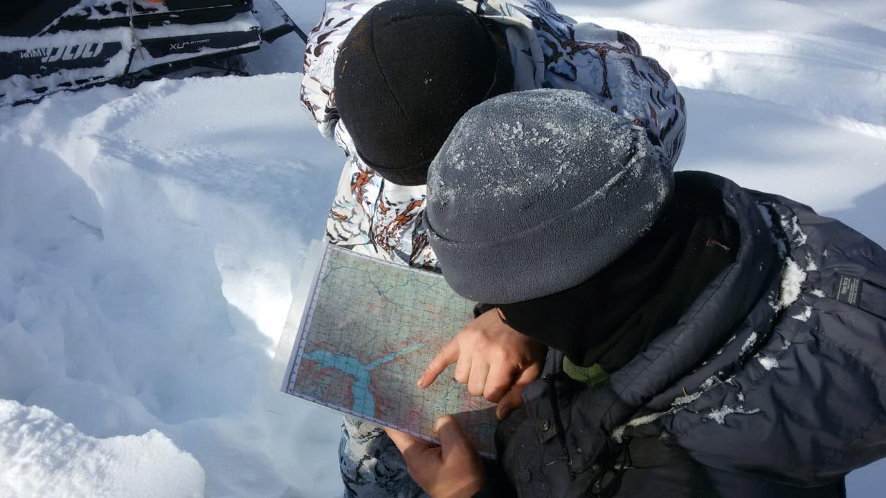 Изучение маршрута.